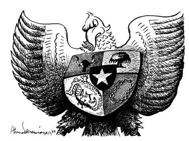 Makna Dan Arti Lambang Garuda Pancasila Shacma